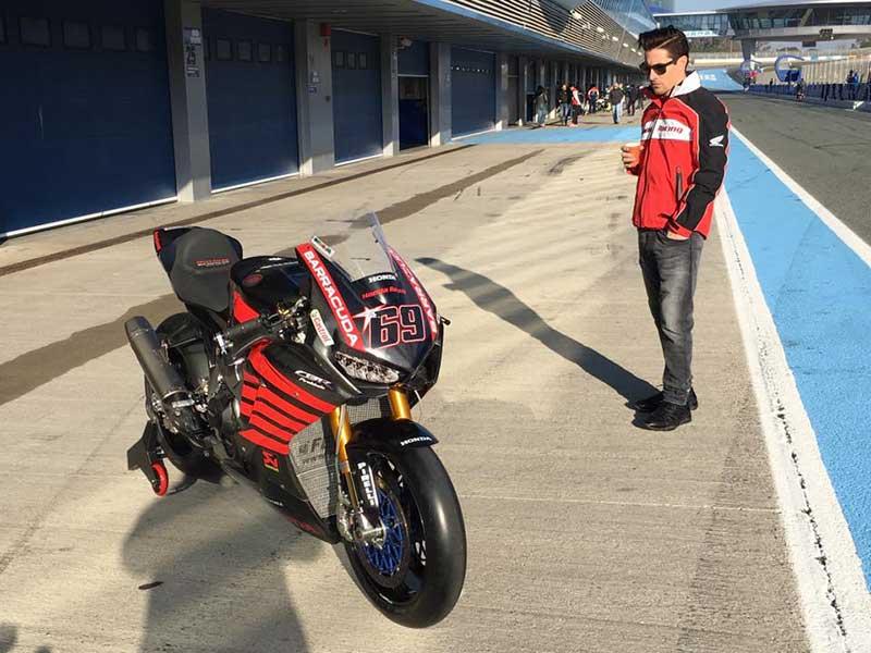 หล่อเหลือล้น!! ยลโฉม Honda CBR1000RR SP2 WSBK ของ Nicky Hayden ในการทดสอบวันแรกที่ Jerez | MOTOWISH 148