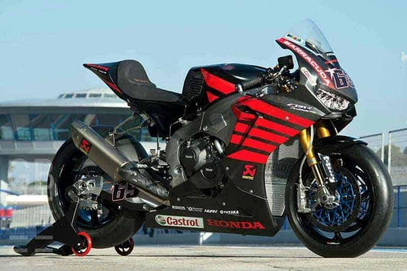 หล่อเหลือล้น!! ยลโฉม Honda CBR1000RR SP2 WSBK ของ Nicky Hayden ในการทดสอบวันแรกที่ Jerez | MOTOWISH 149