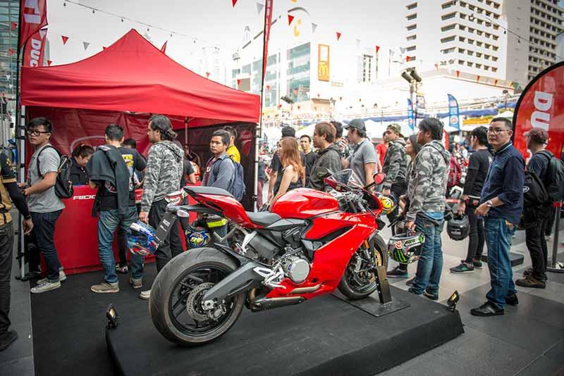 Ducati กว่าร้อยคันร่วมโชว์ในงาน Bangkok Motorbike Festival 2017 | MOTOWISH 2