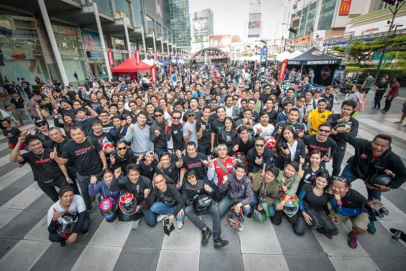 Ducati กว่าร้อยคันร่วมโชว์ในงาน Bangkok Motorbike Festival 2017 | MOTOWISH 3