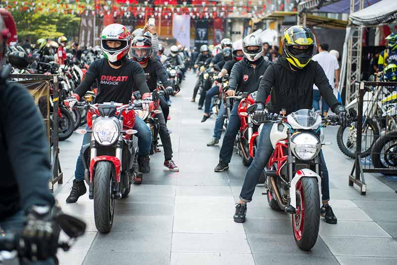 Ducati กว่าร้อยคันร่วมโชว์ในงาน Bangkok Motorbike Festival 2017 | MOTOWISH 4