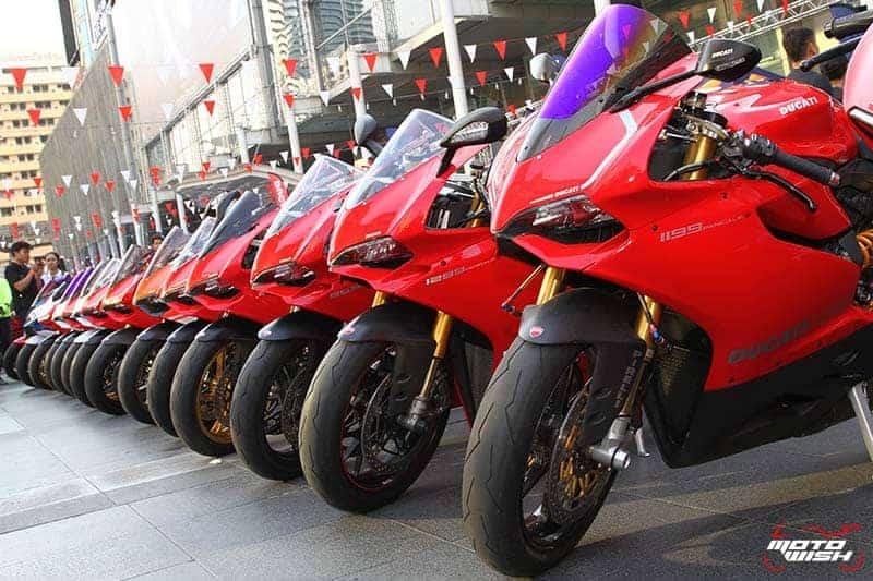 Ducati กว่าร้อยคันร่วมโชว์ในงาน Bangkok Motorbike Festival 2017 | MOTOWISH 6