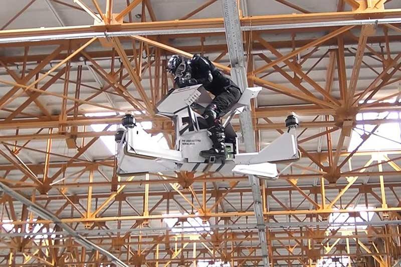 ขึ้นขี่ บินได้จริง Scorpion-3 Hover Bike ตัวต้นแบบจากรัสเซีย | MOTOWISH 131