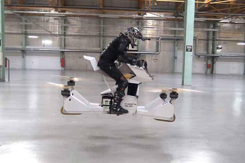 ขึ้นขี่ บินได้จริง Scorpion-3 Hover Bike ตัวต้นแบบจากรัสเซีย | MOTOWISH 129
