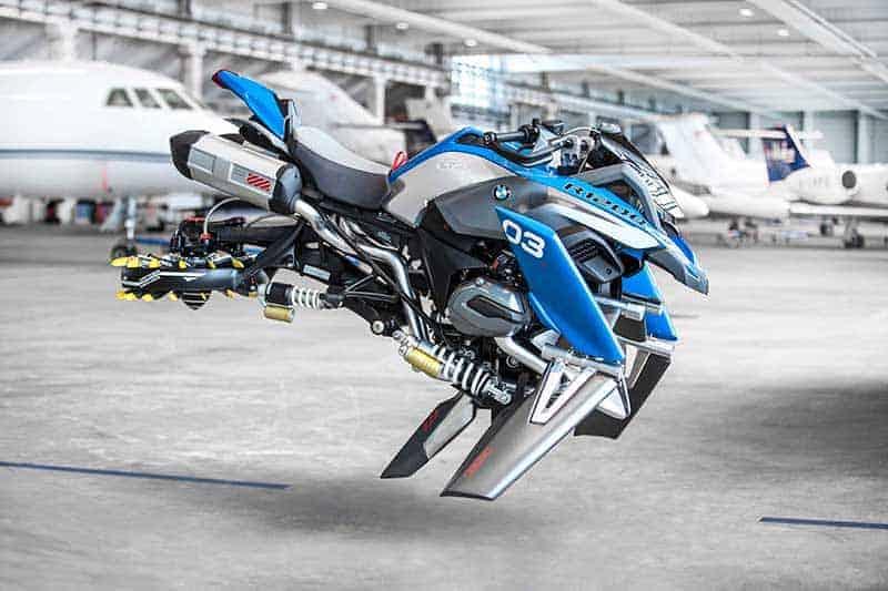 BMW จับมือ LEGO ผลิตโมเดลสุดล้ำ ทำ R1200GS บินได้ | MOTOWISH 12