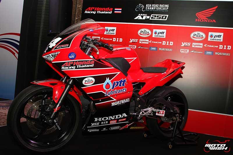 A.P. Honda Racing Thailand สานฝันเด็กไทยก้าวไกลสู่การแข่งขันระดับโลก MotoGP ปี 2025 | MOTOWISH 105