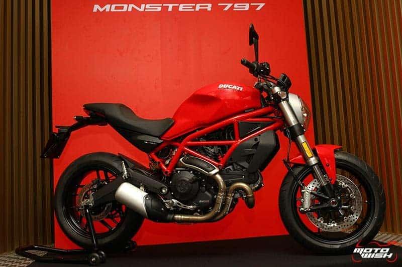 เจาะทุกช็อตกับรถใหม่ Ducati Monster 797 ราคาสะเทือนวงการ 399,000 บาท | MOTOWISH 31