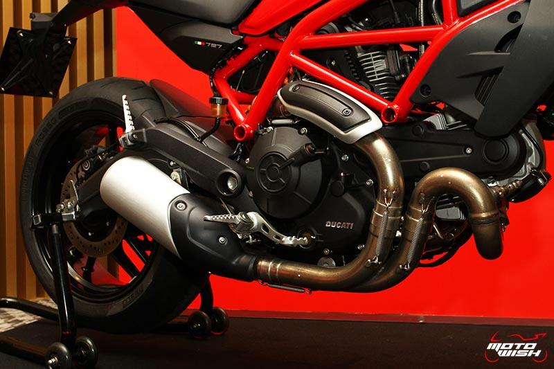 เจาะทุกช็อตกับรถใหม่ Ducati Monster 797 ราคาสะเทือนวงการ 399,000 บาท   MOTOWISH 21