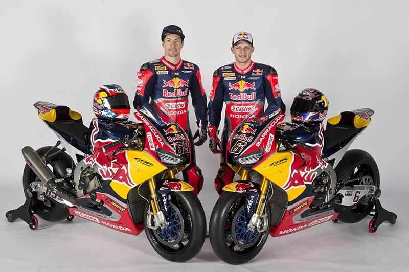 ทีม Honda WorldSBK เผยโฉมม้าศึก CBR1000RR SP2 ตัวแข่ง พร้อมสปอนเซอร์รายใหม่อย่าง Red bull | MOTOWISH 31