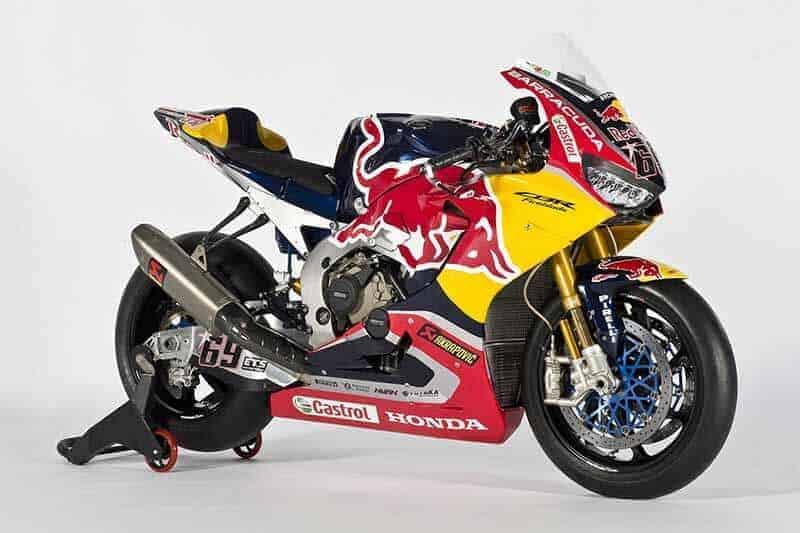 ทีม Honda WorldSBK เผยโฉมม้าศึก CBR1000RR SP2 ตัวแข่ง พร้อมสปอนเซอร์รายใหม่อย่าง Red bull | MOTOWISH 41