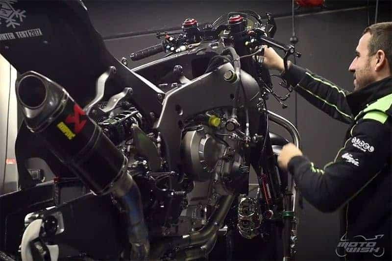 จัดว่าเด็ด!! ชมทุกสเต็ป จาก ZX-10RR ธรรมดา กลายมาเป็นรถแข่ง ZX-10RR WSBK | MOTOWISH 145