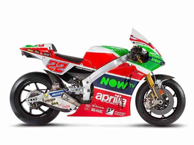 มาช้า ยังดีกว่าไม่มา! Aprilia Racing Team เปิดตัว Aprilia RS-GP ตัวแข่ง MotoGP 2017 | MOTOWISH 149
