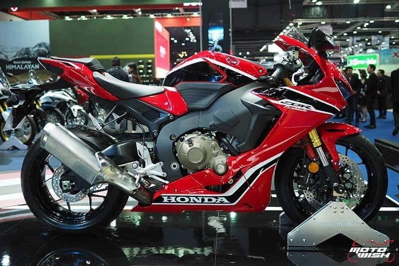 Honda เปิดราคา CBR1000RR 6.43 แสน & CBR1000RR SP 7.79 แสน จอง 30 คันแรก ร่วมทดสอบ RC213V-S ฟรี (Motor Show 2017) | MOTOWISH 150