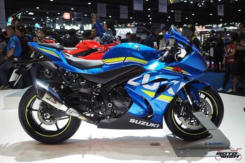 Suzuki เปิดตัวเจ้าสนามคันใหม่ GSX-R1000 & GSX-R1000R ราคาเริ่มต้นเร้าใจ 6.89 แสน (Motor Show 2017) | MOTOWISH 60