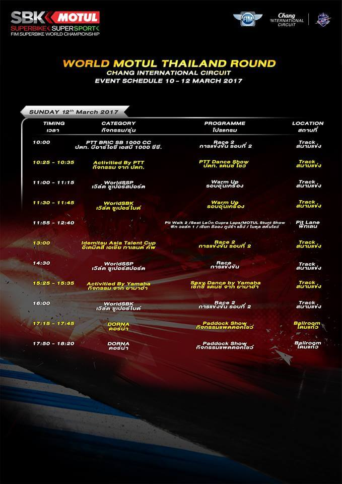 world superbike championship thai round (1)