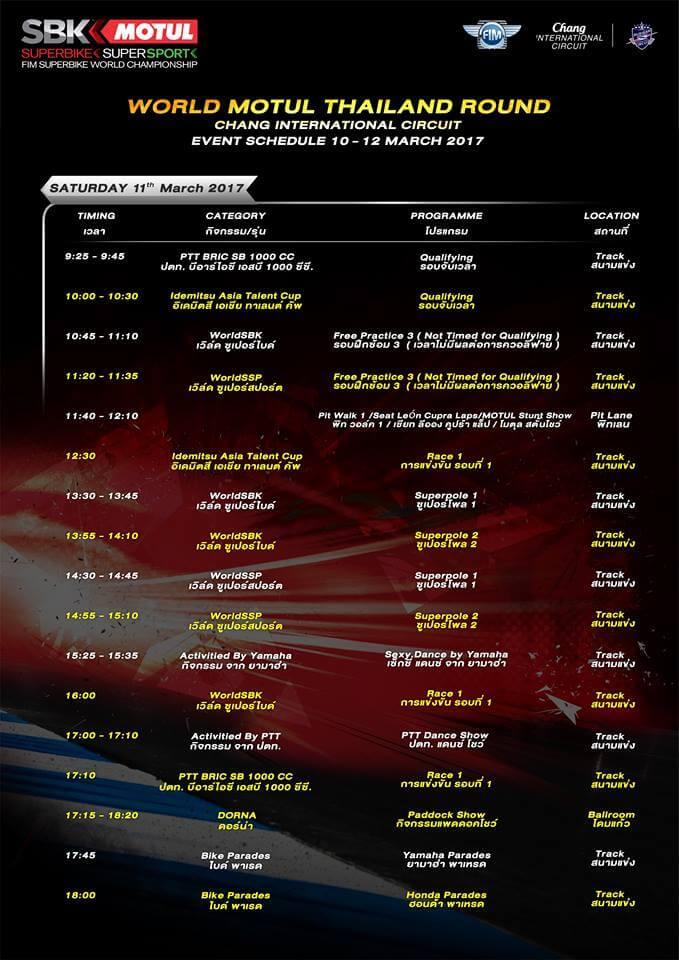 world superbike championship thai round (2)