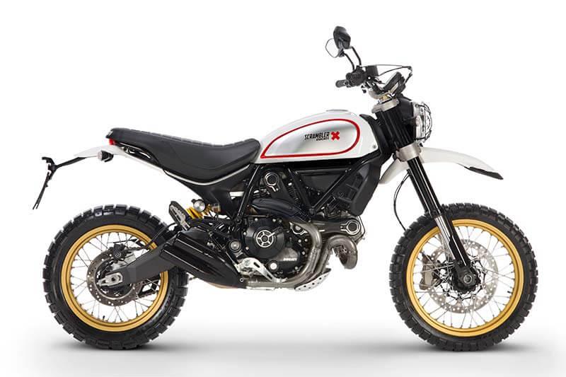 Ducati เปิดตัว Scrambler ใหม่ 2 รุ่น Cafe Racer ได้ใจสายหล่อ & Desert Sled เอาใจสายลุย (Motor Show 2017) | MOTOWISH 114