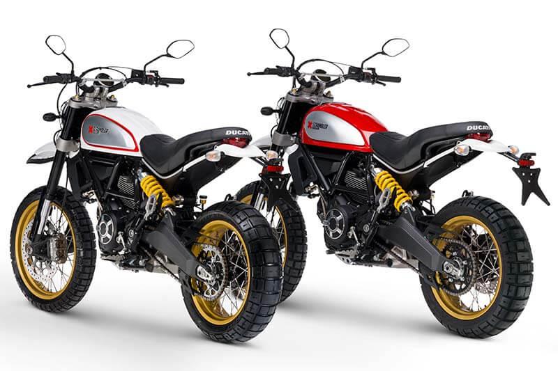 Ducati เปิดตัว Scrambler ใหม่ 2 รุ่น Cafe Racer ได้ใจสายหล่อ & Desert Sled เอาใจสายลุย (Motor Show 2017) | MOTOWISH 115