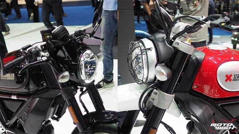 Ducati เปิดตัว Scrambler ใหม่ 2 รุ่น Cafe Racer ได้ใจสายหล่อ & Desert Sled เอาใจสายลุย (Motor Show 2017) | MOTOWISH 116