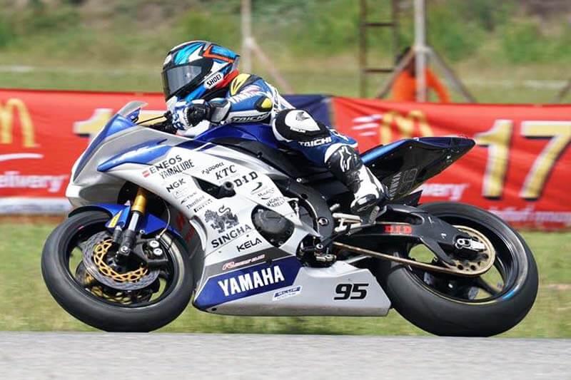 อนุชา นาคเจริญศรี ทำลายสถิติสนามไทยแลนเซอร์กิตด้วยรถ Yamaha YZF-R1 เร็วแค่ไหนต้องดู!!!   MOTOWISH 149