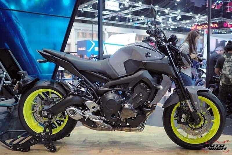 พาส่อง Yamaha MT-09 โฉมใหม่ เน็คเก็ตไบค์ที่หลายคนรอคอย ในราคา 3.99 แสน (Motor Show 2017) | MOTOWISH 42