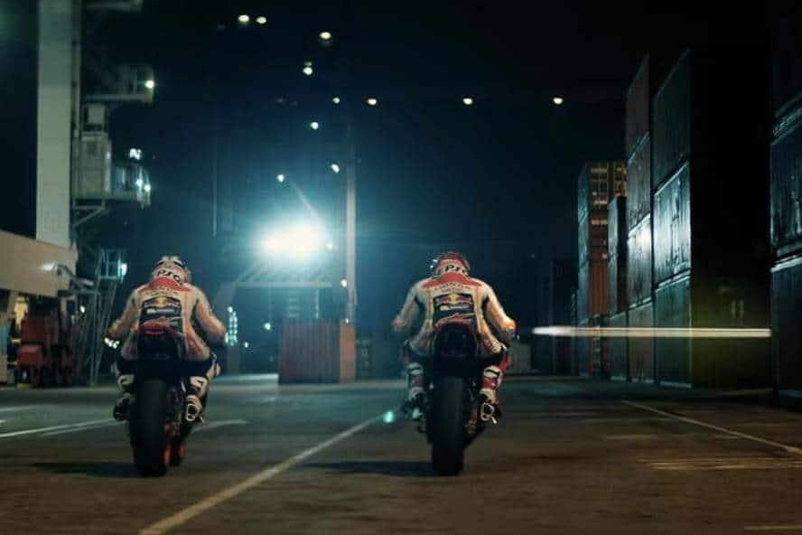 SuperBike Action Sci Fi จากสุดยอดสองนักบิดทีมฮอนด้า Marquez & Pedrosa กับ Repsol Oil   MOTOWISH 157