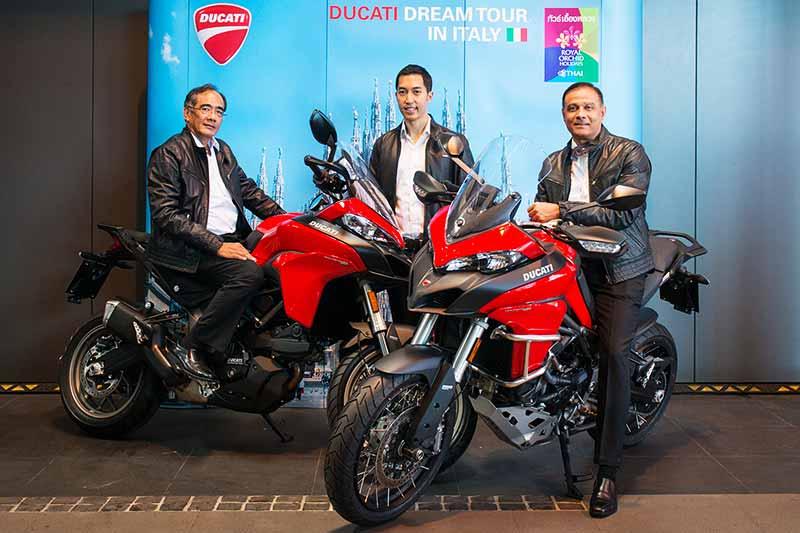 Ducati Thailand พาบินลัดฟ้ากับ การบินไทย สัมผัสทริปสุดเอ็กซ์คลูซีฟ Ducati Dream Tour 2017 | MOTOWISH 138
