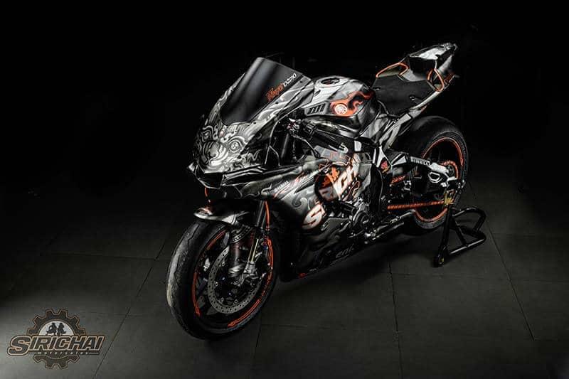 """หนึ่งเดียวในโลก """"Yamaha R1M Nilapat"""" ที่สุดของดีไซน์ บาย ศิริชัย มอเตอร์เซลส์ ลพบุรี พร้อมบทสัมภาษณ์พิเศษ """"กว่าจะมาเป็นนิลพัท""""   MOTOWISH 123"""