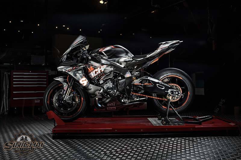 """หนึ่งเดียวในโลก """"Yamaha R1M Nilapat"""" ที่สุดของดีไซน์ บาย ศิริชัย มอเตอร์เซลส์ ลพบุรี พร้อมบทสัมภาษณ์พิเศษ """"กว่าจะมาเป็นนิลพัท""""   MOTOWISH 125"""