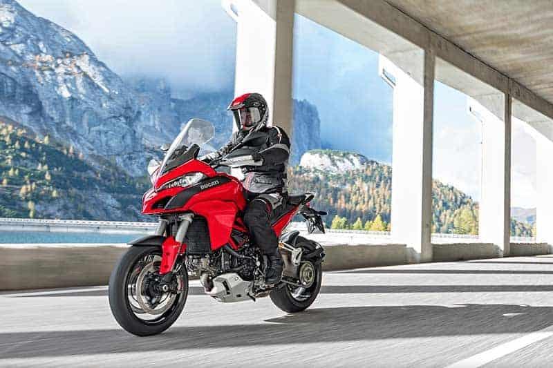 เจ้านกยักษ์ Ducati Multistrada เตรียมสยายปีก วางเครื่องยนต์ใหม่ 1262 ซีซี ในปี 2018 | MOTOWISH 132