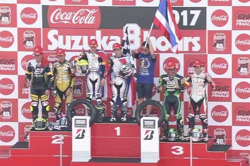 Yamaha นำทัพนักแข่งไทยคว้าชัยอันดับที่ 1 ในศึกทรหด ซูซูกะ เอ็นดูรานซ์ 4 ชั่วโมง หยุดหัวใจคนดู!!!   MOTOWISH 81