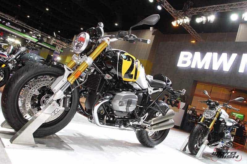 BMW เผยโฉม R nine T (Vintage21) สวย คลาสสิค สะกดสายตา (BIG Motor Sale 2017) | MOTOWISH 94