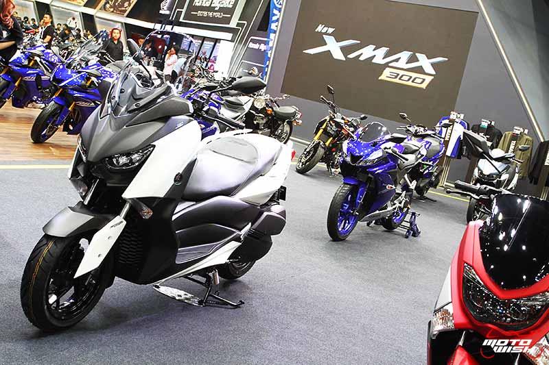 เร้าใจสุดๆ เปิดราคา Yamaha X-Max 300 ครั้งแรกในประเทศไทย 1.68 แสนบาท (Big Motor Sale 2017) | MOTOWISH 43