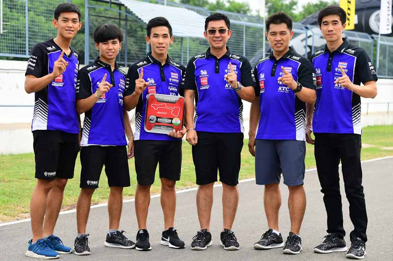 """ARRC 2017 Round 5 Yamaha Thailand Racing Team Rider - Yamaha Thailand """"เบียร์ เฉลิมพล"""" ควบ R6 ซิวแต้มอันดับ 5 """"ตีอนุภาพ"""" ฟอร์มดีขึ้นโพเดี้ยมอันดับ2 - ระเบิดความมันส์กันอีกครั้งกับทัพนักบิดไทยอย่าง YAMAHA THAILAND RACING TEAM ในเกมการแข่งขันรถจักรยานยนต์ทางเรียบชิงแชมป์เอเชีย รายการ FIM Asia Road Racing Championship 2017 สนามที่ 5"""