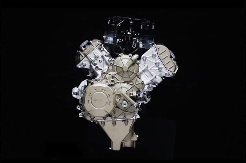 Ducati เผยโฉมแล้ว เครื่องยนต์ Desmosedici Stradale V4 210 แรงม้า | MOTOWISH 159