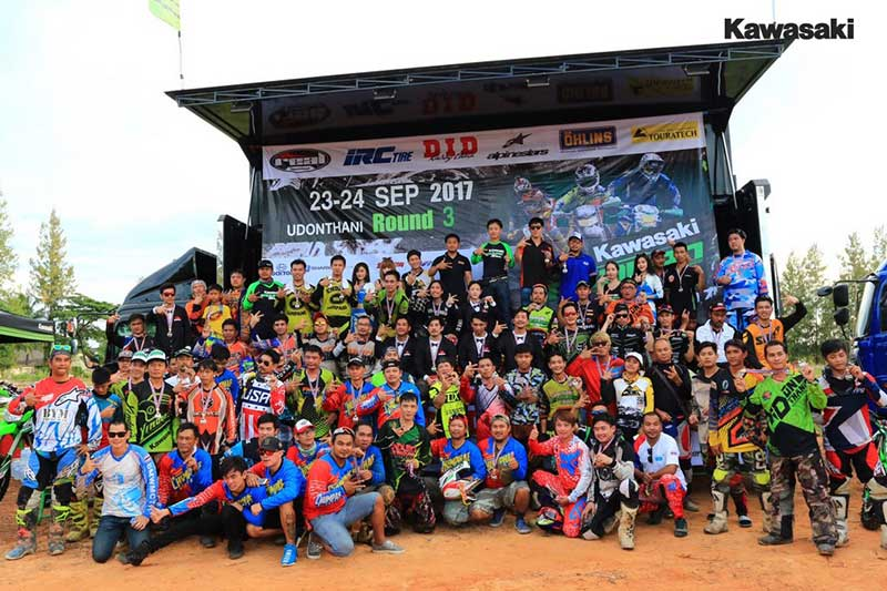 Kawasaki Enduro 3 Hrs 5 - ศึกการแข่งขันท้าทายคนพันธุ์อึด เอ็นดูโร่ 3 ชั่วโมง สนาม 3 ดินแดนที่ราบสูงเมืองแห่งอารยธรรม จ.อุดรธานี - บริษัท คาวาซากิ มอเตอร์ เอ็นเตอร์ไพรส์ (ประเทศไทย) จำกัด ผู้จัดกิจกรรมการแข่งขันรายการเอ็นดูโร่ 3 ชั่วโมงในประเทศไทย ให้แก่กลุ่มลูกค้าและนักแข่งขันที่ต้องการความมันส์และเร้าใจในสไตล์คาวาซากิ