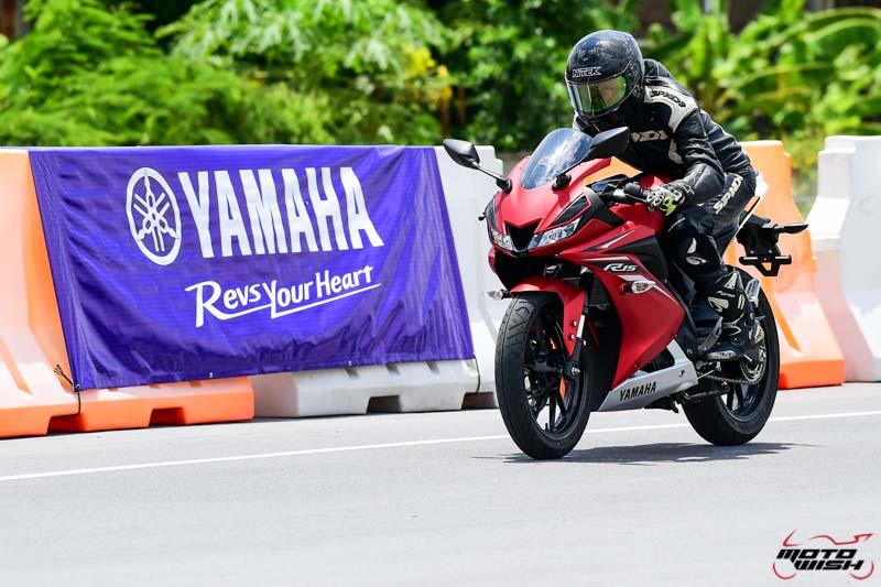 รีวิว All New Yamaha YZF-R15 2017 สปอร์ตตัวแรง 155 cc. ระบบ VVA | MOTOWISH 48