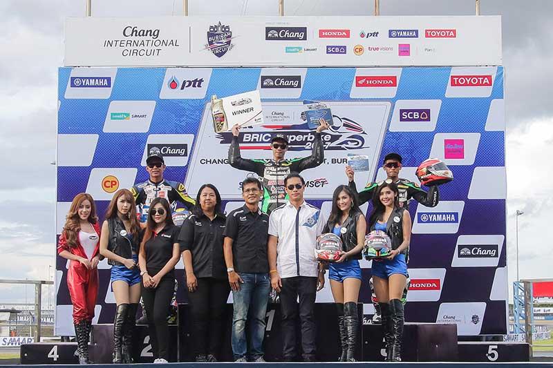 PTT-BRIC Superbike-Round-3-SB-1=Podium