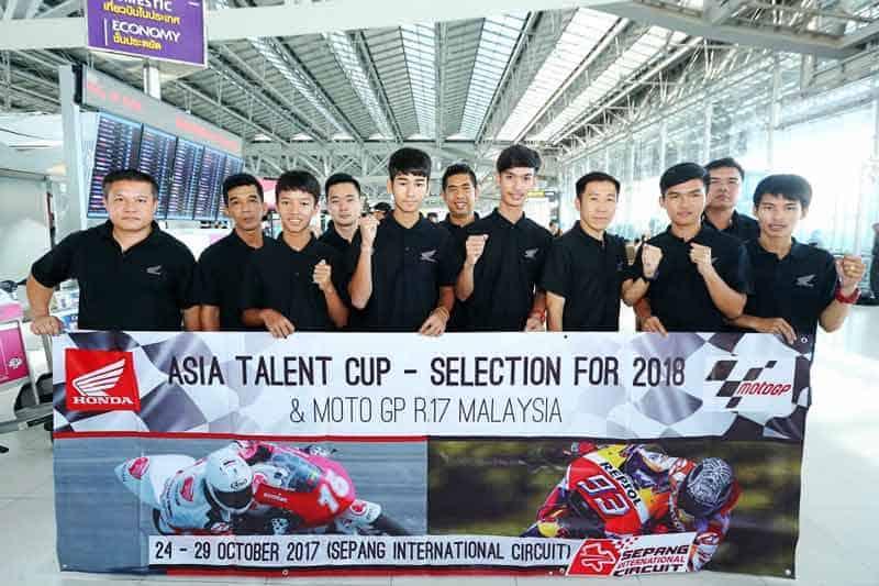 A.P. Honda ส่งสุดยอด 5 นักบิดดาวรุ่งบุกเซปังชิงสิทธิ์ Asia Talent Cup 2018 | MOTOWISH 60