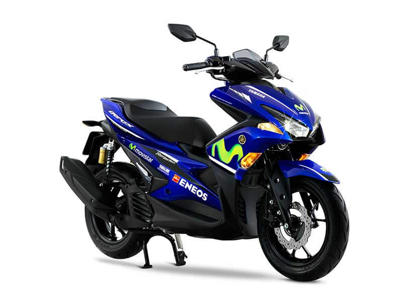 "Yamaha เปิดตัวรถ 4 รุ่นสุดเร้าใจ กราฟิกใหม่ ""MotoGP Edition Series""   MOTOWISH 160"