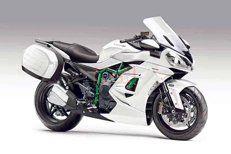 Kawasaki เตรียมเผย H2 ร่างสปอร์ตทัวริ่ง จัดเต็มด้วยอิเล็กทรอนิกส์แบบครบครัน | MOTOWISH 162