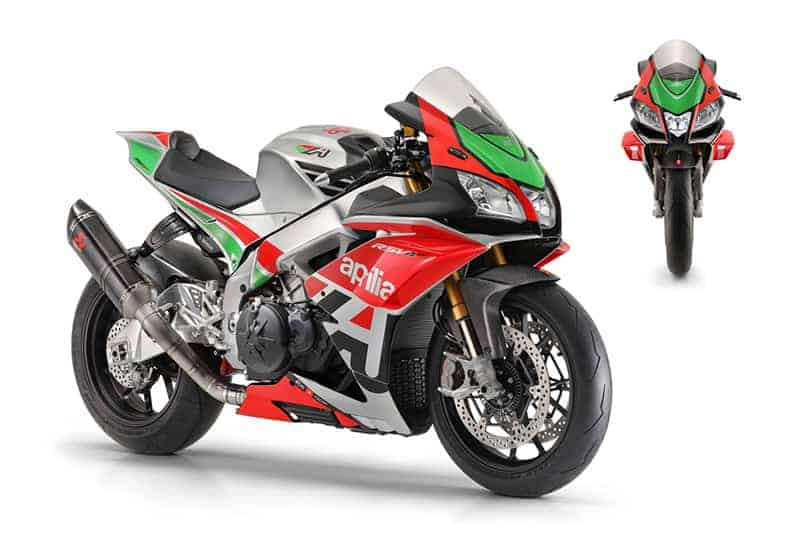 Aprilia RSV4 Factory Works Kit แรง 215 ม้า ติด Winglets ถอดแบบ MotoGP | MOTOWISH 34