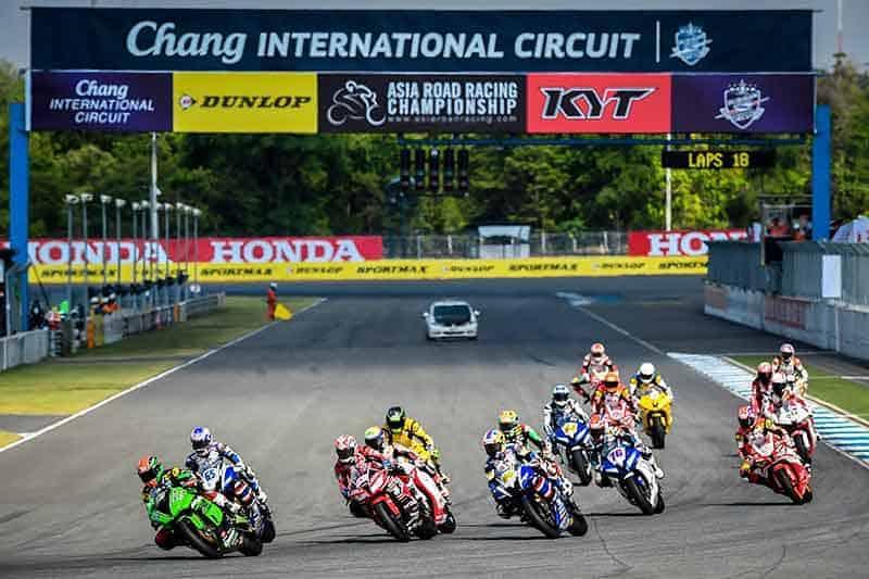 "Asia Road Racing 2017 Round 6 - ""สนามช้าง"" เปิดแทร็กดวล ""เอเชีย โรด เรซซิ่ง"" ศึกสองล้อชิงแชมป์เอเชียสนามสุดท้าย 2-3 ธ.ค.นี้ - สนามช้าง อินเตอร์เนชั่นแนล เซอร์กิต จ.บุรีรัมย์ สังเวียนแข่งรถระดับโลกของไทยเตรียมเปิดสนามต้อนรับยอดนักบิดเอเชียกว่า 200 ชีวิต ชิงชัยในศึก เอเชีย โร้ด เรซซิ่ง แชมเปี้ยนชิพ 2017 สนามสุดท้าย ต้นเดือนธันวาคมนี้"