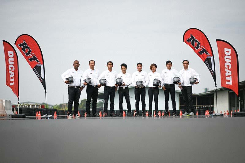 Ducati จับมือ KYT ร่วมรณรงค์ขับขี่ปลอดภัยในหลักสูตร DRE ด้วยหมวกกันน็อคมาตรฐานสนามแข่ง MotoGP | MOTOWISH 46