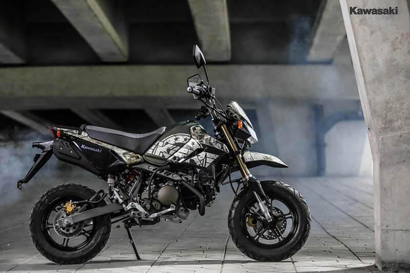 """Kawasaki เปิดตัว KSR """"Final Edition"""" 2 สีใหม่ ลาย Camo โดนใจวัยซ่าส์ ราคาเพียง 5.56 หมื่น   MOTOWISH 64"""