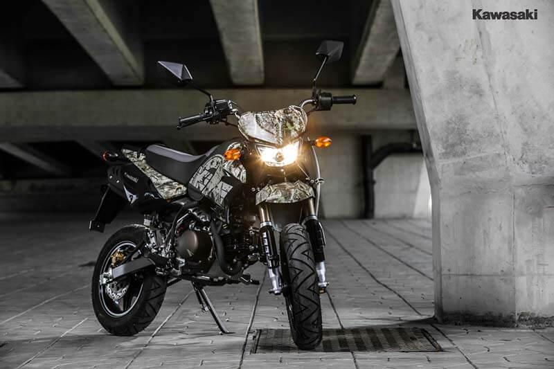 """Kawasaki เปิดตัว KSR """"Final Edition"""" 2 สีใหม่ ลาย Camo โดนใจวัยซ่าส์ ราคาเพียง 5.56 หมื่น   MOTOWISH 66"""