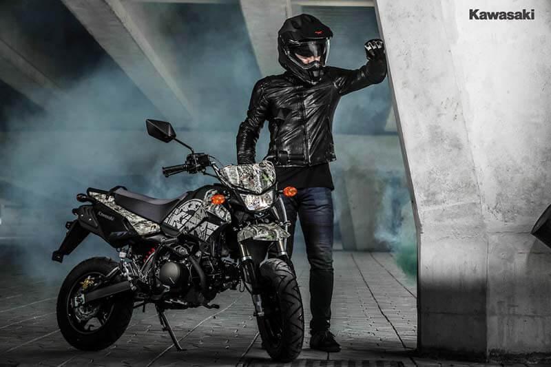"""Kawasaki เปิดตัว KSR """"Final Edition"""" 2 สีใหม่ ลาย Camo โดนใจวัยซ่าส์ ราคาเพียง 5.56 หมื่น   MOTOWISH 67"""