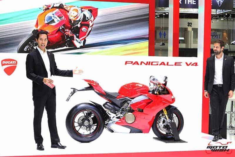Ducati เผยโฉม Panigale V4 ครั้งแรกในไทย พร้อมเปิดราคาขายเริ่มต้น 949,000 บาท (Motor Expo 2017) | MOTOWISH 7