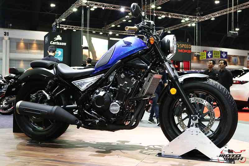 MotoWish-Motor-Expo-2017-Honda-New-Rebel-Special-Edition-Midnight-Blue