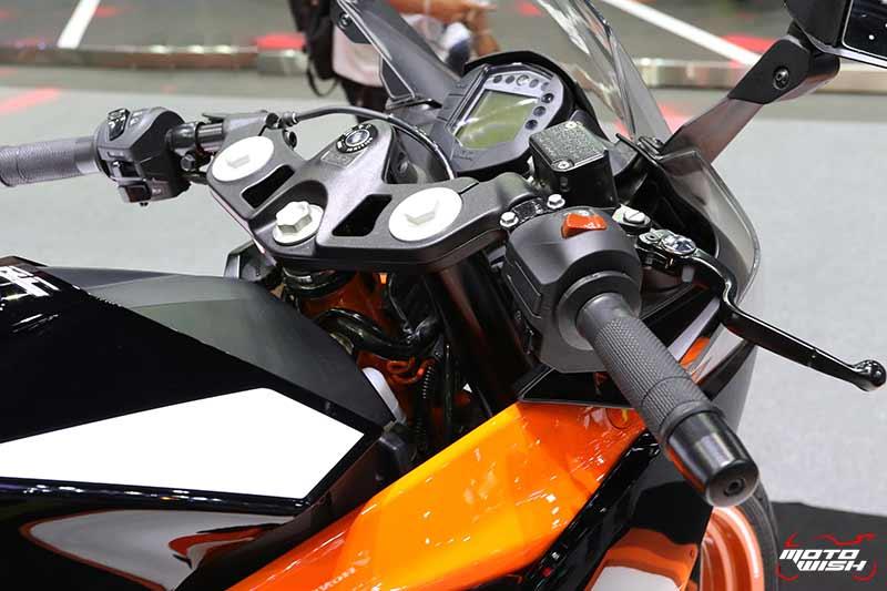 เปิดตัวบิ๊กไบค์สายแข่ง KTM RC 390 พร้อม KTM 390 DUKE อย่างเป็นทางการ (Motor Expo 2017) | MOTOWISH 46